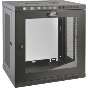 Tripp Lite SmartRack 12U Switch-Depth Rack Enclosure Cabinet w/ Clear Window