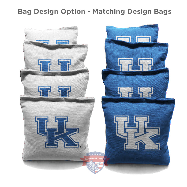 CORNHOLE BAGS UK UNIVERSITY OF KENTUCKY WILDCATS Baggo Toss Tailgate Game 8 Bags
