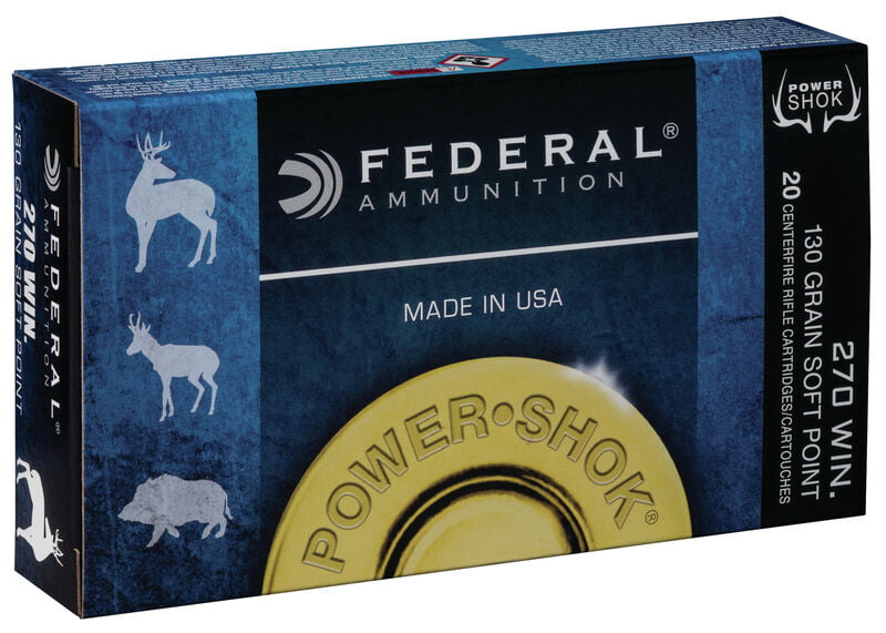 Federal Powershok .270WIN 20 Rounds