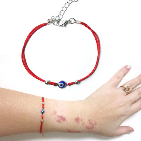 red bracelet seiraa com jewelry dp bell string eye evil charms necklace with amazon kabbalah