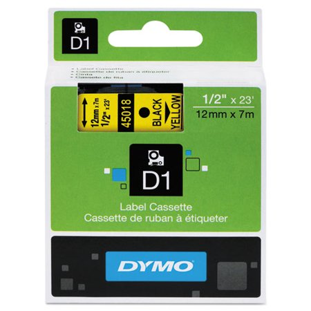 DYMO D1 High-Performance Polyester Removable Label Tape, 1/2