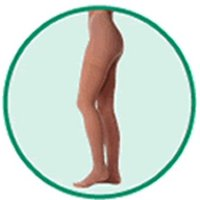 00361 30-40 mmHg, Soft, Panty, OT, Short, Beige - Size I