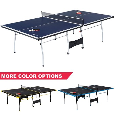 MD Sports Official Size Table Tennis Table with Paddle and Balls,
