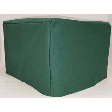 Canvas Toaster Cover 15 Colors Available 2 Slice Hunter Green