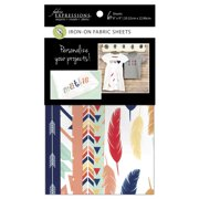 FUSIBLE SHEETS - FEATHERS/ARROW