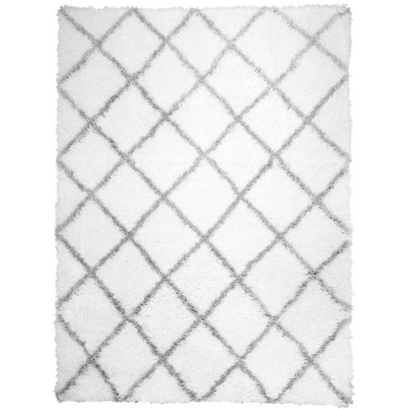 Home Dynamix Carmela Collection Plush Microfiber Shag Area Rug