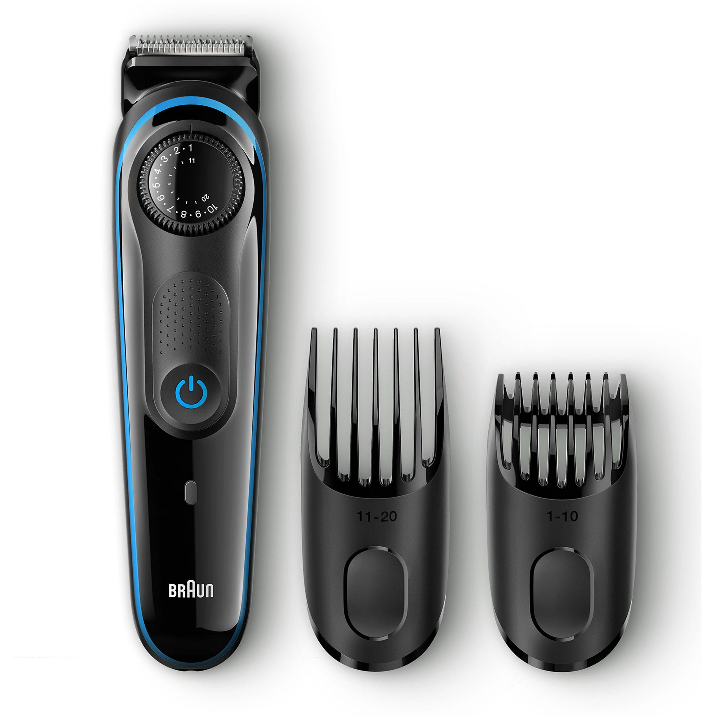 Braun BT3040 Men's Beard Trimmer/Hair Clipper, 39 Precision Length Settings for Ultimate Precision, Includes Fusion ProGlide Razor ($5 Rebate Available)