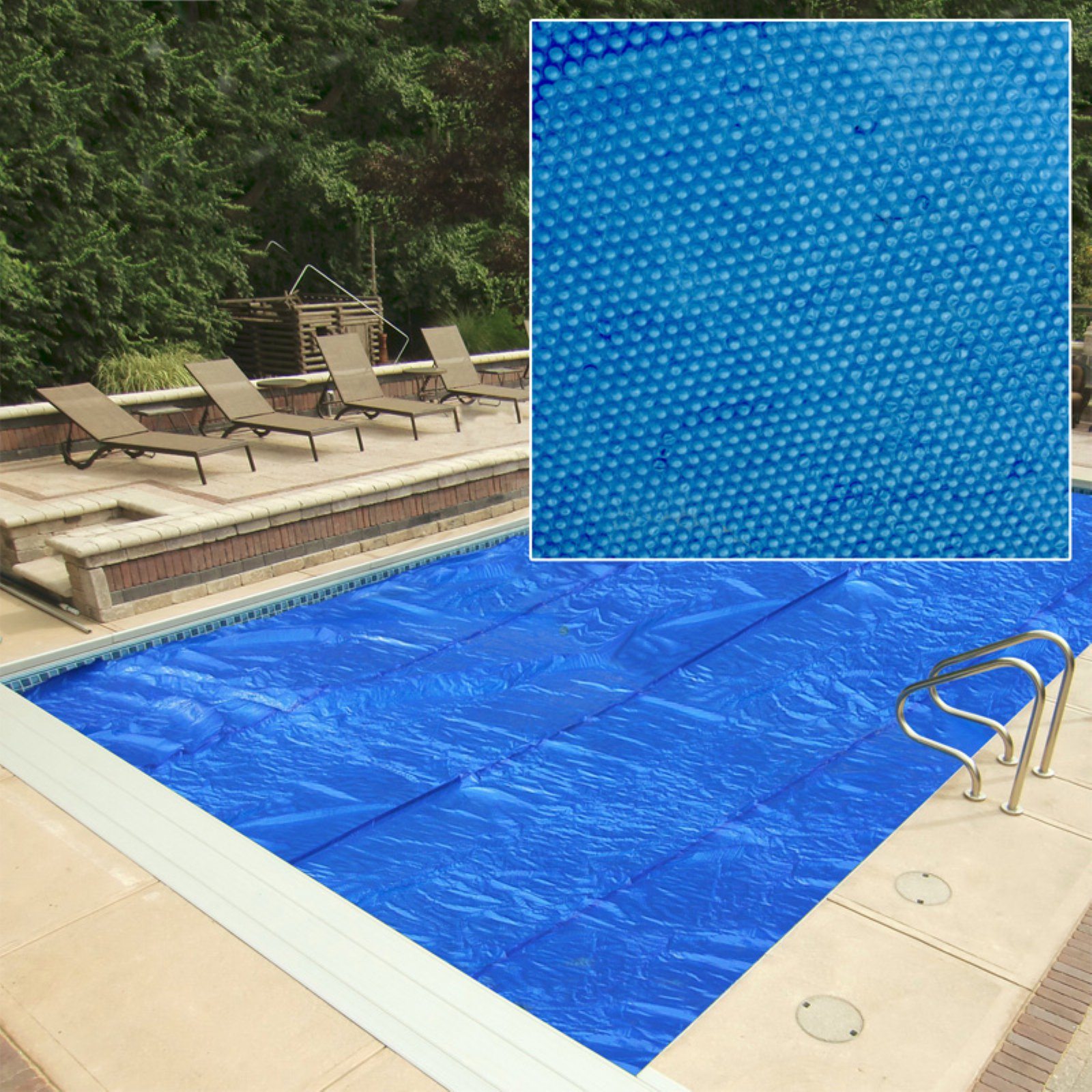 Heritage in Ground Pool Solar Cover