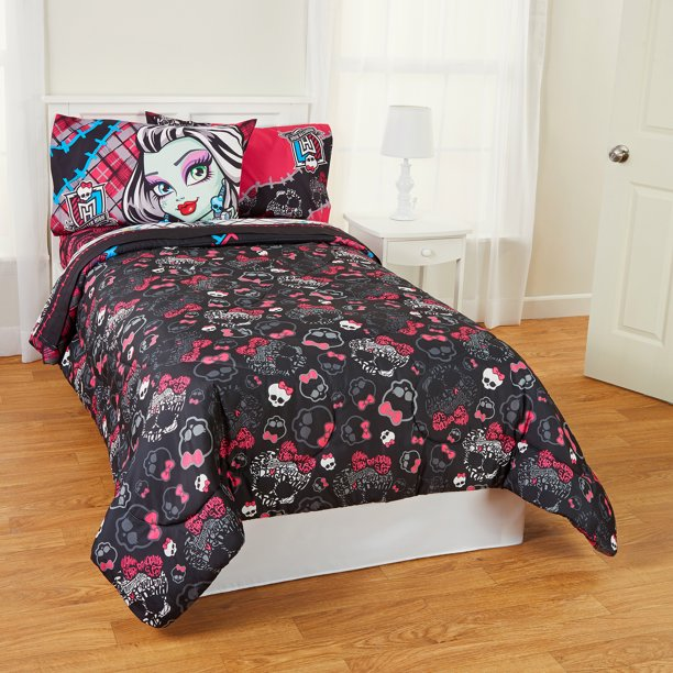 Monster High Right To Fright Twin Full, Monster High Bedding Twin