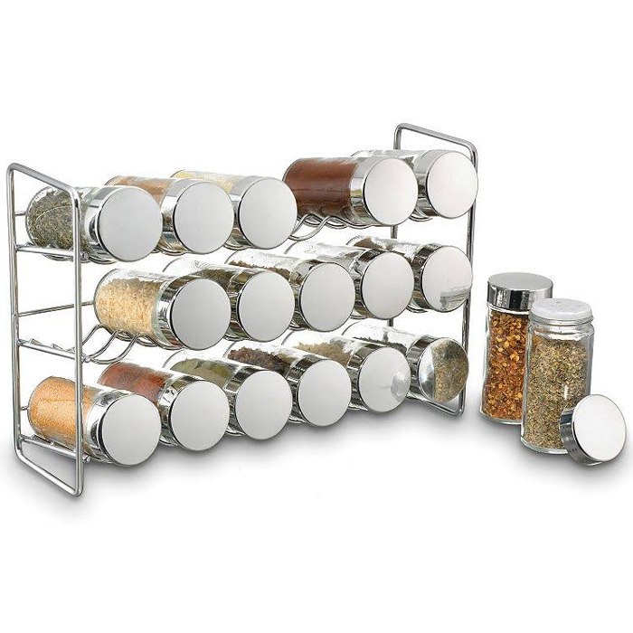 Felji 18 Bottle Spice Rack by