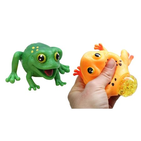 2 Frogs with Eggs Squeeze Stress Balls - Sensory, Stress, Fidget Toy - Squishy Toy](Egg Ball)