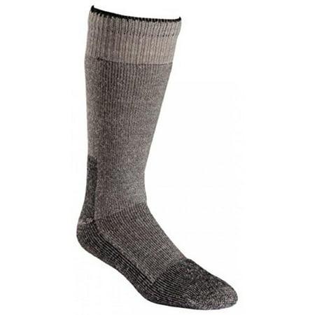 Fox River Wool Work Heavyweight Cold Weather Mid-Calf Boot Socks, Medium, Grey (Cold Weather Socks For Girls)