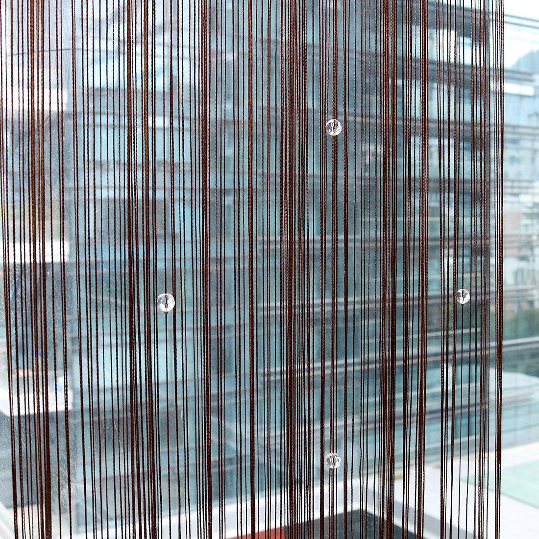 Drop Beaded String Curtains Room Divider Door Window Curtain Tassel