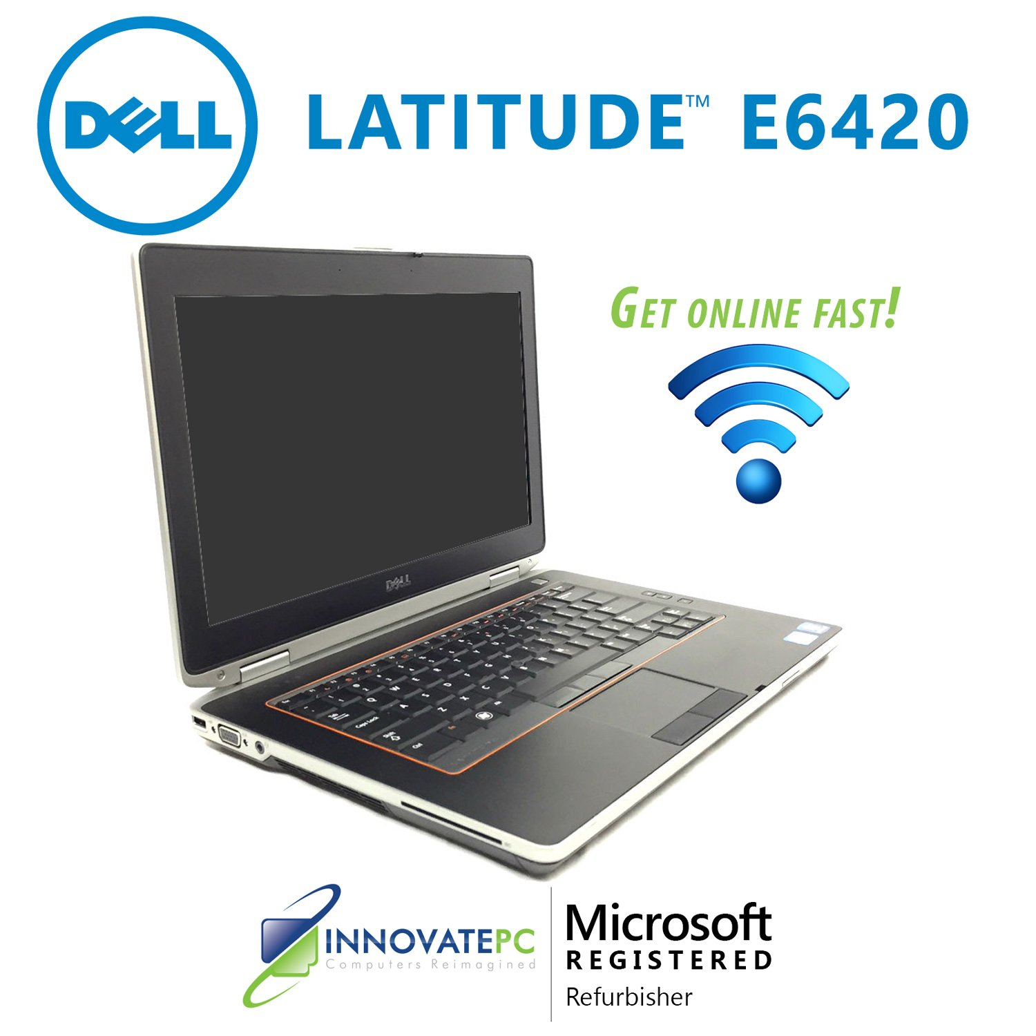 "Refurbished Dell Latitude E6420 Core i5-2520M 2.5GHz 4GB 250GB DVDRW 14"" Laptop Windows 7 Professional"
