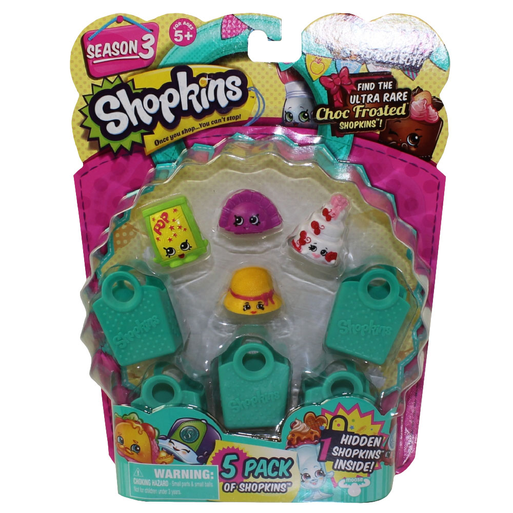 Shopkins Season 3 5-Pack
