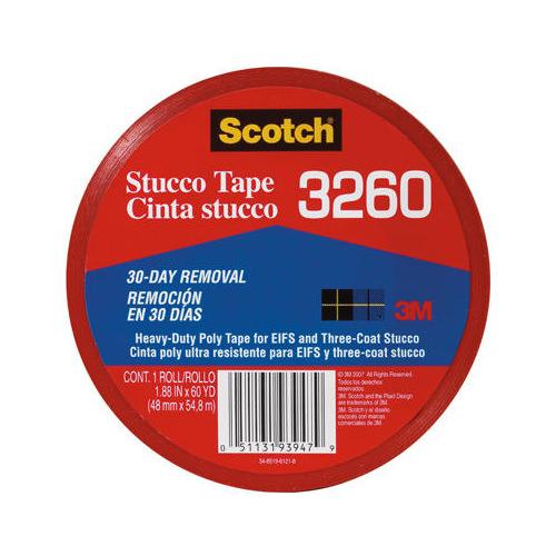 3M COMPANY 3260-A 2x60YD Heavy Duty Stucco DuctTape