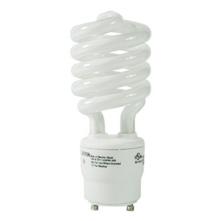 33113SP30K - 13 Watt CFL Light Bulb - Compact Fluorescent - 60 W Equal - 3000K Warm White - - GU24 Base By TCP