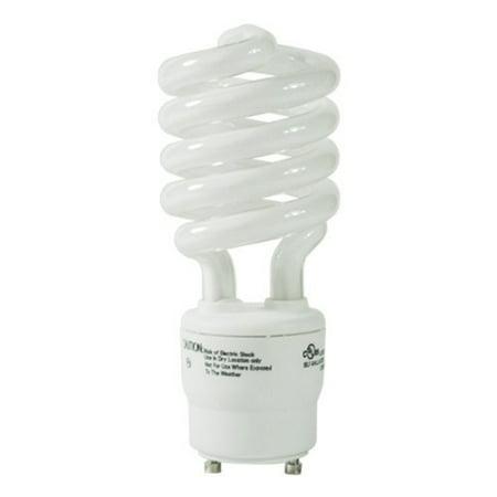 33113SP30K - 13 Watt CFL Light Bulb - Compact Fluorescent - 60 W Equal - 3000K Warm White - - GU24 Base By TCP