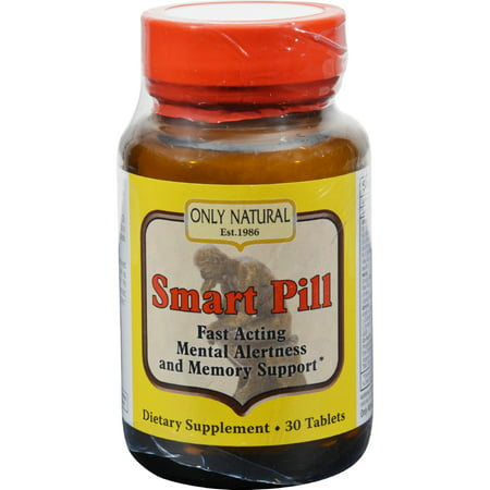 Pill 30 Tablets (Only Natural Smart Pill - 30)