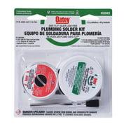 Oatey Safe-Flo 8 oz. Lead-Free Plumbing Solder Kit Silver Bearing 50/50 2 pc.