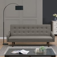 Homesvale Ophir Sofa Bed in Faux Leather, Multiple Colors