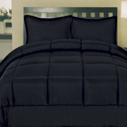 Sweet Home Collection Box Stitch Down Alternative Comforter - Full
