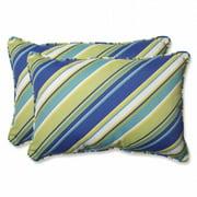 Pillow Perfect 569598 Browning Sunblue Rectangular Throw Pillow - Set of 2