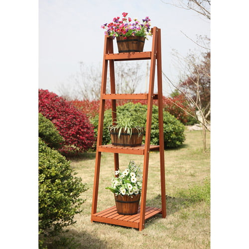 Convenience Concepts Planters and Potts 4-Tier Plant Stand by Convenience Concepts