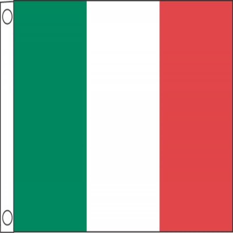 """Taylor Made Products 93075 Italy Boat Flag (12"""" x 18"""")"""