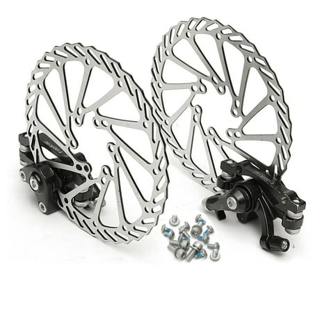 160MM MTB Bike Mechanical Disc Brake Front and Rear Brake With G2 Rotors -
