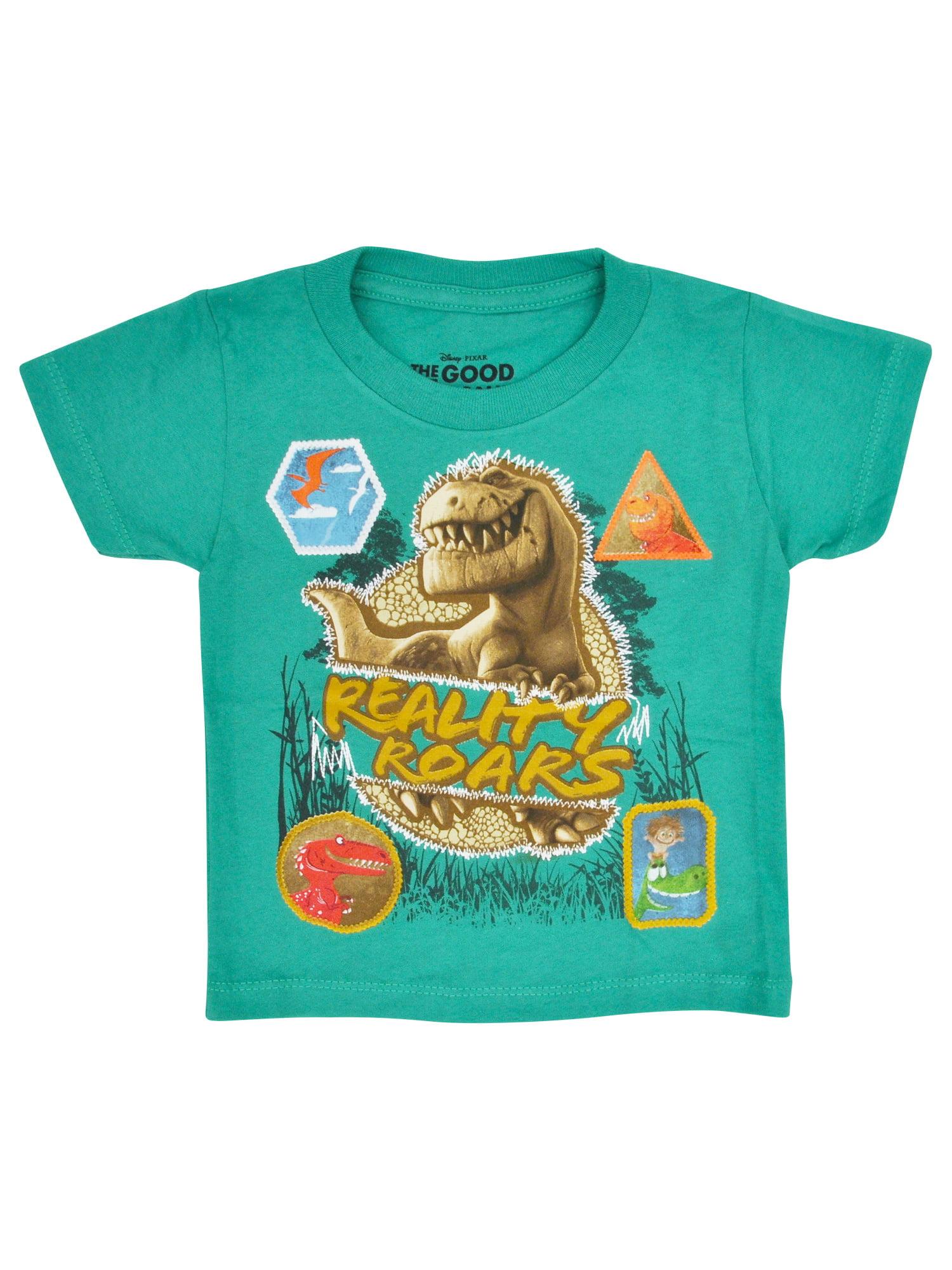Toddler Boys The Good Dinosaur T-Shirt - Short Sleeve Green