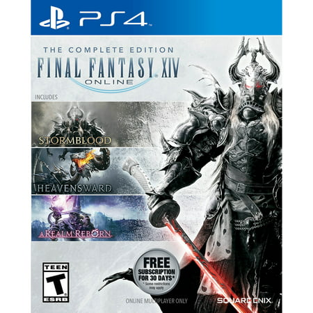 Final Fantasy XIV: The Complete Edition, Square Enix, PlayStation 4, (Final Fantasy 14 A Realm Reborn Release Date)