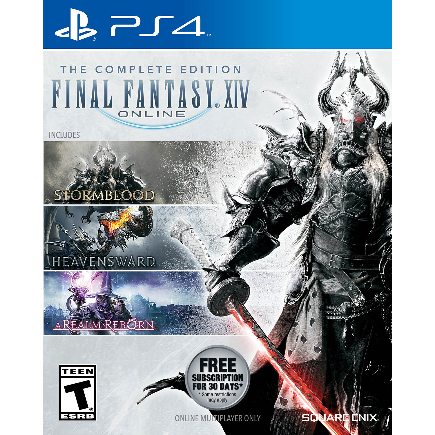 Final Fantasy XIV: The Complete Edition, Square Enix, PlayStation 4, REFURBISHED/PREOWNED