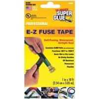 Super Glue 15408-12 Black Repair Tape, 120 in.