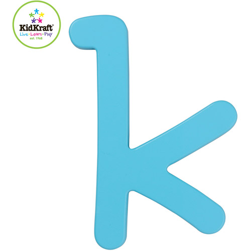 KidKraft Preppy Solid Letter Wall Decor