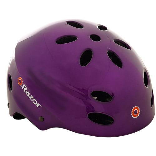 Razor Gloss Purple V17 Helmet, Child
