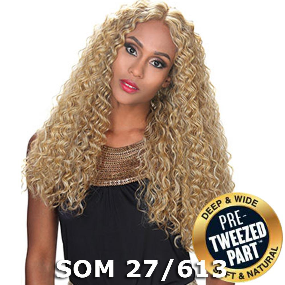 Sis Royal Pre-Tweezed Part Swiss Lace Front Wig - QUEEN (SOM RT Purple Blast)
