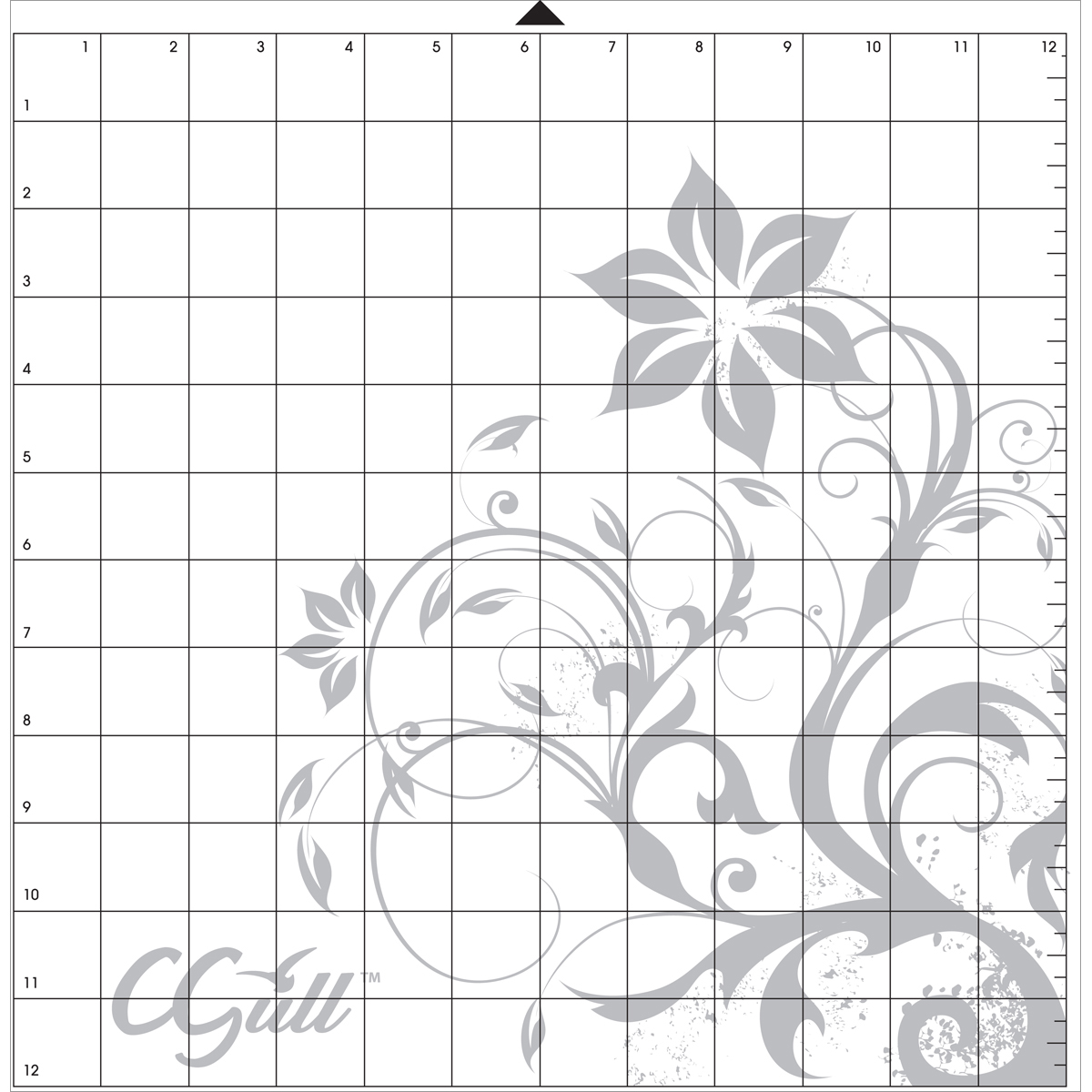 "CGull Style Cutting Mat 12""X12""-Silhouette Style"