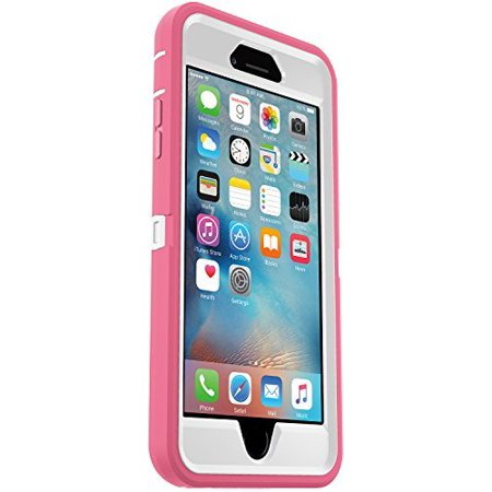 fd1d6463d OtterBox DEFENDER Series Case and Belt Clip Holster for Apple iPhone 6s / iPhone  6 - Retail Packaging - Pink/White - Walmart.com