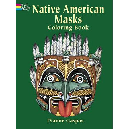 Native American Masks Coloring Book