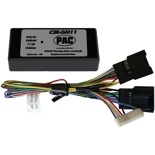 PAC C2R-GM11 11-Bit Interface for 2007 GM Vehicles with No OnStar System