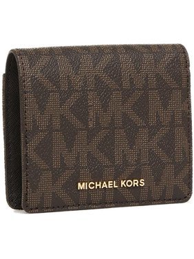9281a6531f1d Product Image Signature Leather Wallet - Brown - 32T6GTVD2B-200. Michael  Kors