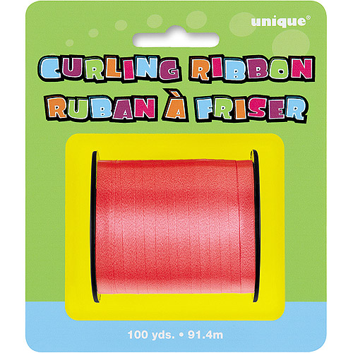 Red Curling Ribbon, 100 yds
