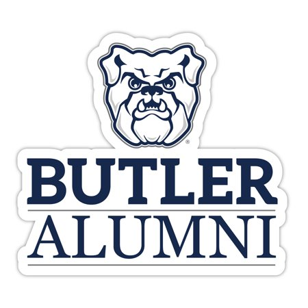 Butler Bulldogs 4-Inch Laser Cut Alumni Vinyl Decal Sticker Laser Cut Decals