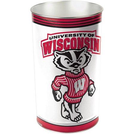 Wincraft Wastebasket - Wincraft Wisconsin Wastebasket