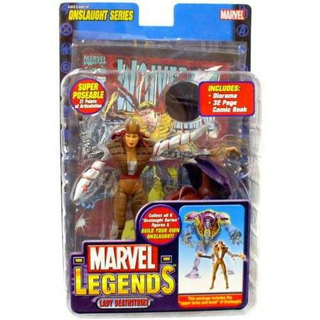 Marvel Series 13 Onslaught Lady Deathstrike Action Figure