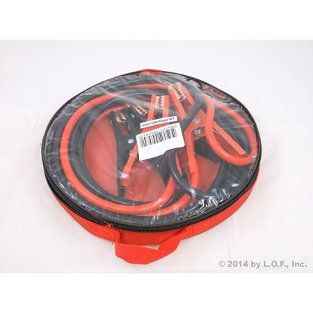 Jumper Cable Kit 16 Foot Commercial 4 Gauge Booster