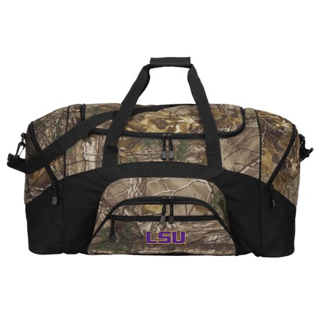 b1243e6baeae Camo LSU Tigers Duffle Bag Or RealTree Camo LSU Gym Bag - Walmart.com