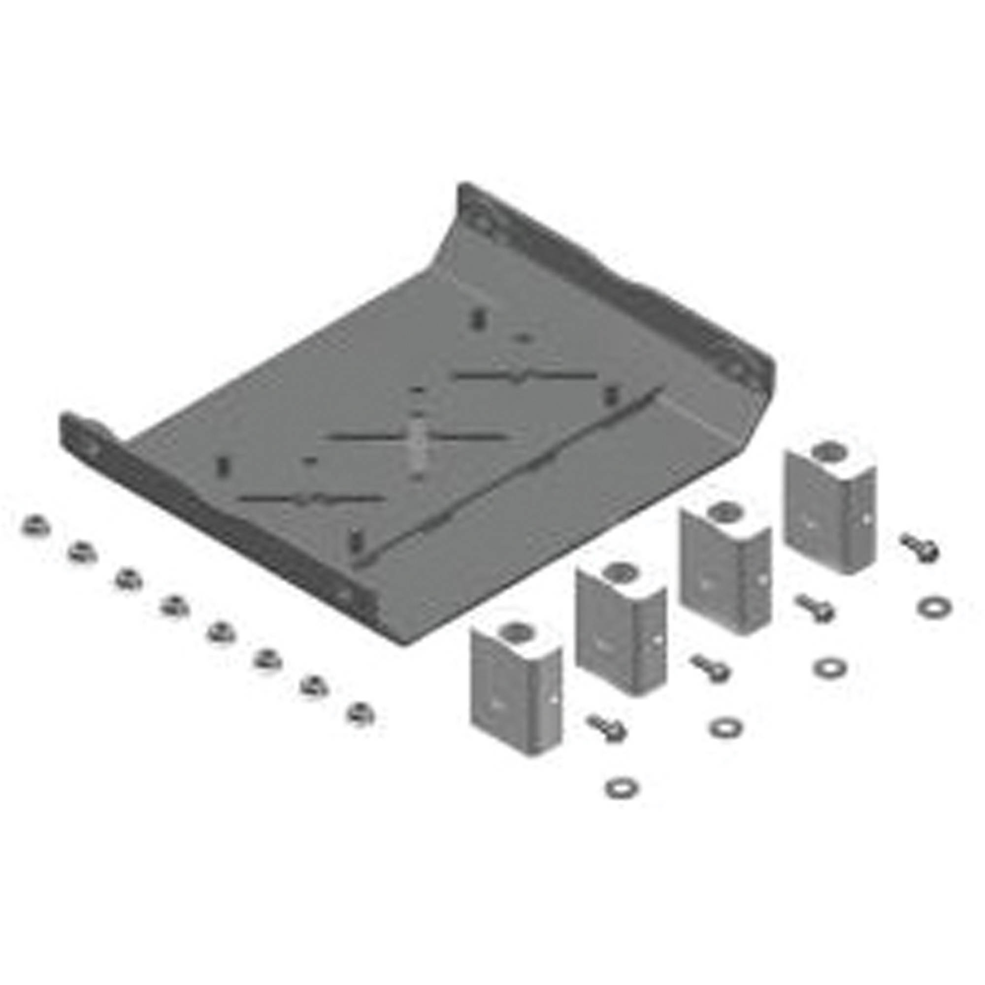 MORryde RPB77-006 Pin Box System Adapter Kit Adapter Kit for Gooseneck