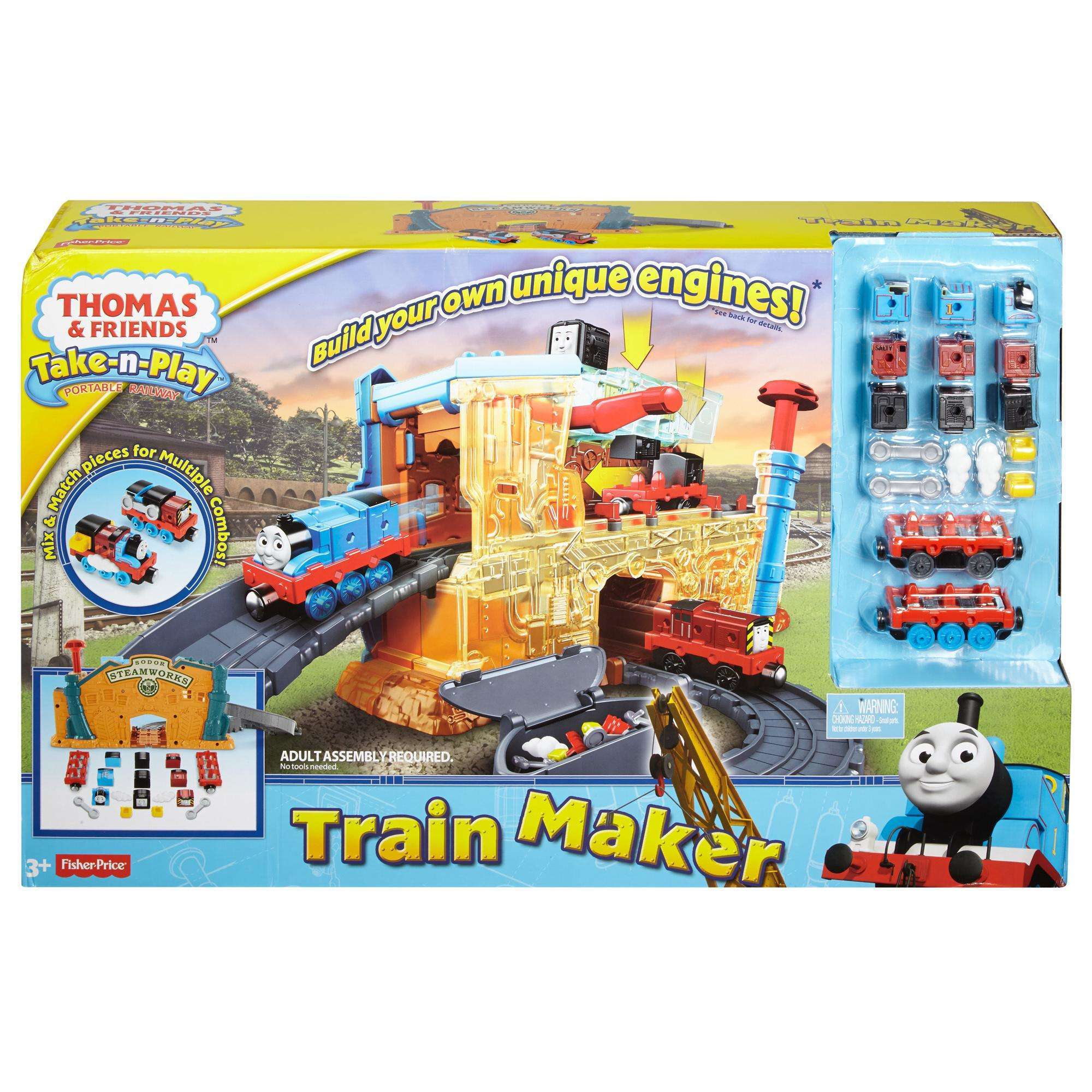 Thomas & Friends Take n Play Engine Maker Walmart